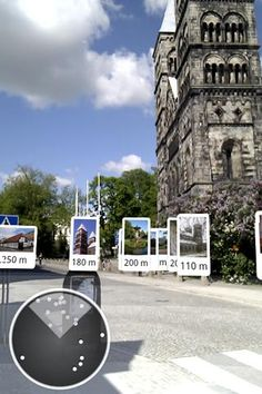 """Photos Around"" Augmented Reality free application for android"