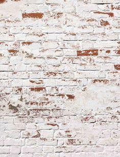 Grunge White Brick Wall Backdrop For Photography – Shopbackdrop White Brick Background, White Brick Walls, Background For Photography, Photography Backdrops, Photography Shop, Instagram Wand, Brick Cafe, Brick Paneling, Brick Texture