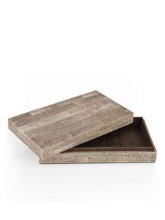 Shagreen Tiled box by DayNa Decker