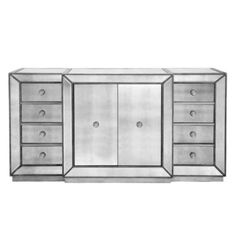 Omni Mirrored Buffet from Z Gallerie