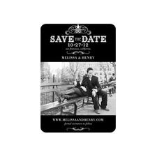 cute save the date magnets, take a look after you take your engagement photos.