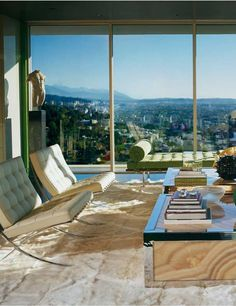 Elton John and David Furnish's Los Angeles apartment, designed by Martyn Lawrence-Bullard