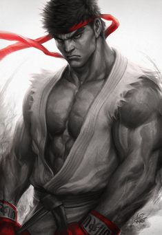 The fighting style used by Street Fighter character Ryu, is described as a martial art rooted as an assassination art Ansatsuken. This fighting style is heavily based on striking-based martial arts such as KyoKushin Karate.