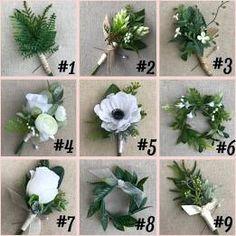new ideas succulent wedding bouquet groomsmen Blush Wedding Flowers, Dusty Rose Wedding, Bridal Flowers, Wedding Bouquets, Bridesmaid Bouquets, Blue Wedding, Rustic Wedding, Decor Wedding, Diy Wedding