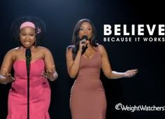 Weight Watchers - Jennifer Hudson is an inspiration. Look at that body and confidence!