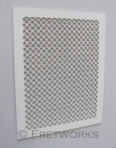 Quatrefoil MDF Fretwork Screen Hawthorne Pattern by FretworksDesigns - $120