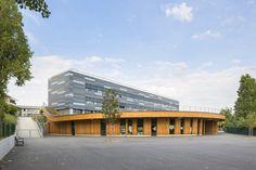 Школа Jules Verne в Шатне-Малабри, Франция — HQROOM