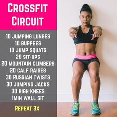 No equipment? No space? No problem! This travel-friendly, CrossFit-inspired work. - No equipment? No space? No problem! This travel-friendly, CrossFit-inspired workout will blast fat - Fitness Workouts, Fitness Motivation, Sport Fitness, At Home Workouts, Fitness Tips, Beginner Crossfit Workouts, Workout Routines, Muscle Fitness, Fitness Goals