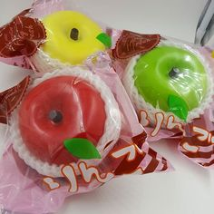 Cutie Creative Jumbo scented apples! Available now at www.delitefulboutique.com