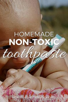 Here's a homemade toothpaste recipe without fluoride glycerine and other additives that aren't good for you your teeth or the environment. Toothpaste Recipe, Homemade Toothpaste, Health And Beauty, Health And Wellness, Glycerin, Natural Baby, Natural Living, Natural Parenting, Natural Home Remedies
