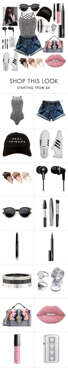 """""""Be Yourself"""" by stephaniereed ❤ liked on Polyvore featuring Pepper & Mayne, adidas, Urban Decay, Panasonic, ZeroUV, Sephora Collection, Givenchy, NARS Cosmetics, Cartier and Lime Crime"""