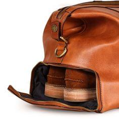 Men's Designer Merrivale Tan Bag | Oliver Sweeney