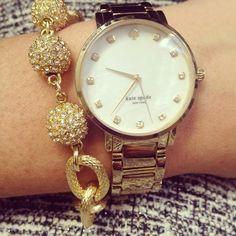 Watch + bracelet combo