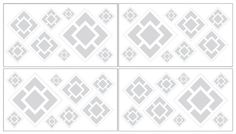 Gray and White Diamond Baby and Kids Wall Decal Stickers ... https://www.amazon.com/dp/B007TA78WM/ref=cm_sw_r_pi_dp_-g.Cxb8WS56V4