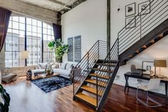 In love with this loft and sure it costs more than a small fortune.  Click to see the rest of the tour.