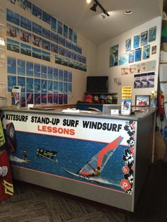 Headquarters of HST Windsurfing & Kitesurfing Lessons - Register here for windsurfing, Surfing, SUP and Kitesurfing lessons. | Yelp