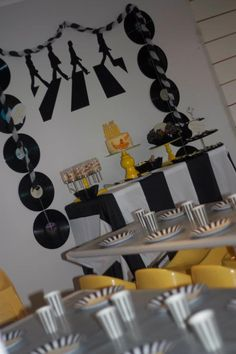 Little Big Company   The Blog: A Beatles themed Yellow Submarine Party by Eleven Event Stories