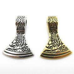 Barato Dos homens novos da chegada antigo Thor martelo Mjolnir aço inoxidável 316L PUNK pingente de presente da jóia, Compro Qualidade Pingentes diretamente de fornecedores da China:             Nós preferimos o pagamento através de  Custódia  e é a forma mais