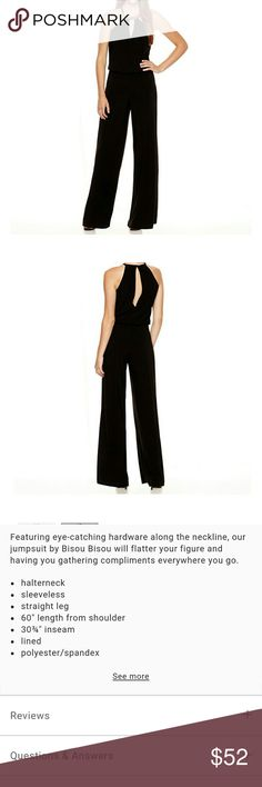 Black sleeveless jumpsuit | Shops, Rompers and Black jumpsuit