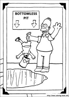 awesome simpsons-12 coloring page