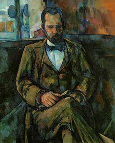 Paul Cézanne. Ambroise Vollard. 1899. Oil on canvas.
