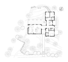 House Design Drawing, Craftsman Floor Plans, Architect Drawing, Family House Plans, House Layouts, Next At Home, Planer, New Homes, Architecture