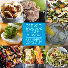 21DSD Recipe Roundup | Summer Cookout