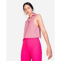 1ad40e478 Camisa Amaro Vichy Xadrez - Vermelho e Branco - Compre Agora