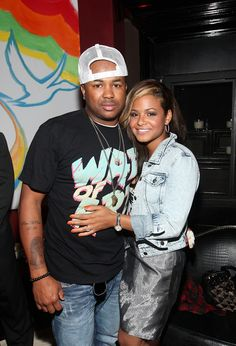 "Christina Milian The Dream Photos - Terius Hagert Youngdell Nash a.k.a. ""The Dream"" and Christina Milian attend the RISING ICONS event presented by Grey Goose and BET Networks at 1OAK on July 27, 2009 in New York City. - GREY GOOSE Entertainment and BET Networks present RISING ICONS Event"