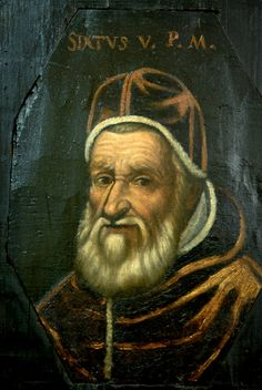 Pinacoteca  ritratto di Papa Sisto V
