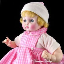 "1977 Madame Alexander 14"" Baby Sister #3555 Working Crier Original Box and Tags SOLD"
