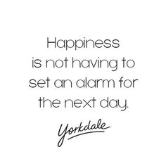 Here's to the long weekend! #HappySunday #YorkdaleStyle