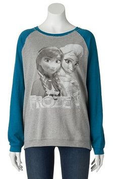 Disney Frozen Anna & Elsa Sweatshirt - Juniors #Kohls