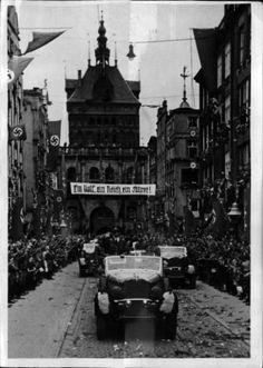 Hitler in Danzig (Gdansk). 20.09.1939.
