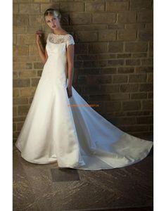 Augusta Jones 2013 Exklusive Bodenlange Hochzeitskleider aus Taft