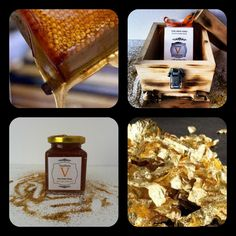 Health Benefits of Gold with Honey :  It eliminates skin ulcers. It helps to build immunity. It promotes vitality and longevity. It stimulates nerves and releases nervous pressure. It weakens the desire for alcohol. It is a natural antibiotic. It stops infections from a burn and helps healing without scaring.