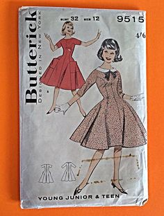 A personal favourite from my Etsy shop https://www.etsy.com/au/listing/239096462/1950s-dress-size-12-bust-32-unused-ff