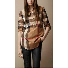 Burberry Women S-2XL Shirt 2014-2015 BWS125
