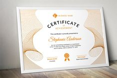Line curve certificate docx template Business Names, Business Flyer, Sales Kit, Word Program, Certificate Of Achievement, Flyer Layout, Invoice Template, Certificate Templates, Website Template