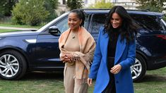 The royal baby is here! Duchess Meghan and Prince Harry welcomed their first child on Monday, May and the former Suits actress' mom, Doria Ragland, is showing her support. Meghan Markle Parents, Meghan Markle Mom, Suits Actress, Doria Ragland, Royal Babies, Prince Harry And Meghan, Prince Charles, Royal Fashion, Duke And Duchess