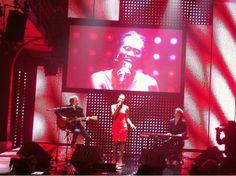 Ivy bei der Ramses-Gala in Hamburg...