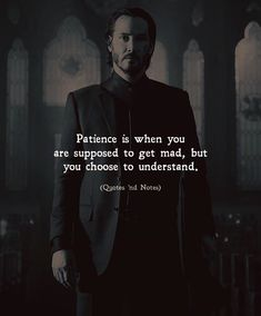 Patience is when you are supposed to get mad but you choose to understand. via (http://ift.tt/2FxhC2X)