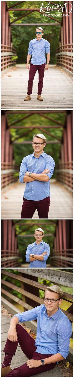 How to pose senior boys on bridges - Missouri Photographer Kacey D Photography Senior Pictures Boys, Senior Boys, Senior Photos, Senior Portraits, Columbia Missouri, Boy Photos, How To Pose, Senior Photography, Picture Poses