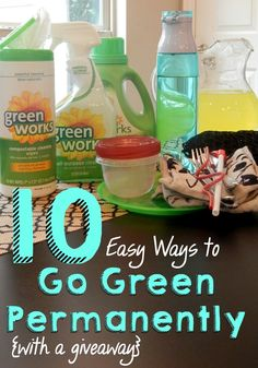 I'm going green for life! #EarthDay #GreenDIY #ad
