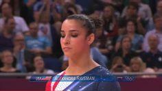 Aly's Balance Beam Routine: | Aly Raisman's Dramatic Final Night At The Olympics