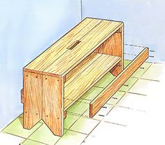 Get a straight edge, measuring tape, pinewood boards, a saw, and drywall screws — you're ready to take on these simple wood projects!data-pin-do=