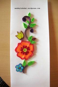 DIY Flower Quilling