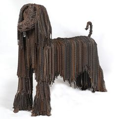 Israeli artist Nirit Levav has a unique take on recycling — she uses old bike parts to make sculptures of man's best friend. She uses recycled bike chains, pedals, gears and even seats to create her statues, and has already sculpted enough to fully stock a kennel. http://calgary.isgreen.ca/products/gadgets/useful-eco-gadgets-2015/