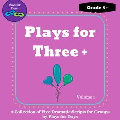 Looking for fun plays to act with your class? This collection of 5 plays explores themes like friendship, family relationships, new pets, and bullying in a light-hearted way. Your students will enjoy playing roles like teachers, parents, teens and pets. Ideal for grades 5 - 12. Classroom connection and fun even from a distance. Please click the link below and check out the Plays for Days TPT store for more fun reading and drama resources! Play Day, First Dates, More Fun, Bullying, Plays, Distance, Script, Third, Acting