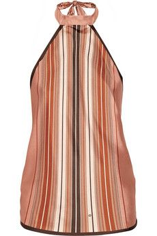 Gucci Reversible printed silk top | NET-A-PORTER